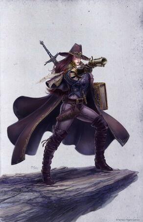 Cazadora de Brujas Warhammer Quest The Adventure Card Game por Ilich Henriquez