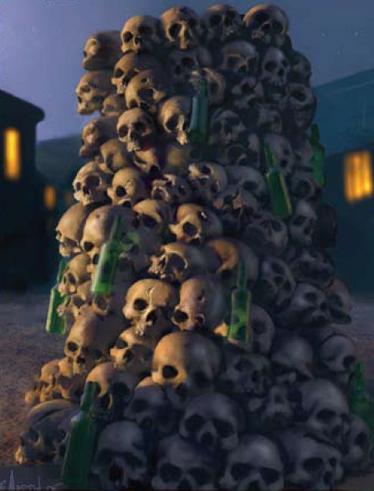 Columna de los cráneos de averheim