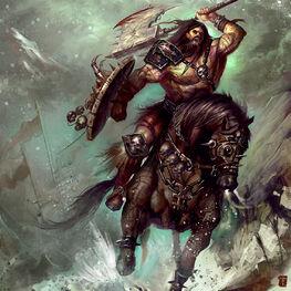 Jinetes Bárbaros por Tyler James
