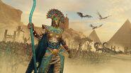Khalida total war warhammer