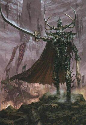 Rey Brujo Malekith Elfos Oscuros