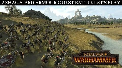CuBaN VeRcEttI/Vídeo de la quest battle de Azhag en Total War: Warhammer