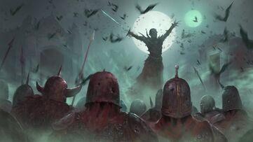 Total war Vampiro levantando ejército
