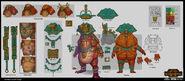 Mazdamundi warhammer total war concept art por Rinehart Appiah