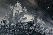 Torres de Asedio Gorko y Morko por Adrian Smith