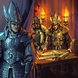 Unrevealed Arts por Chris Trevas Altos Elfos Imperio