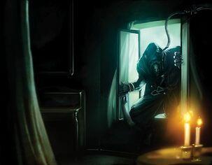 Warhammer Maestro de la Muerte Sniktch por Jorge Maese Faroldjo Skavens