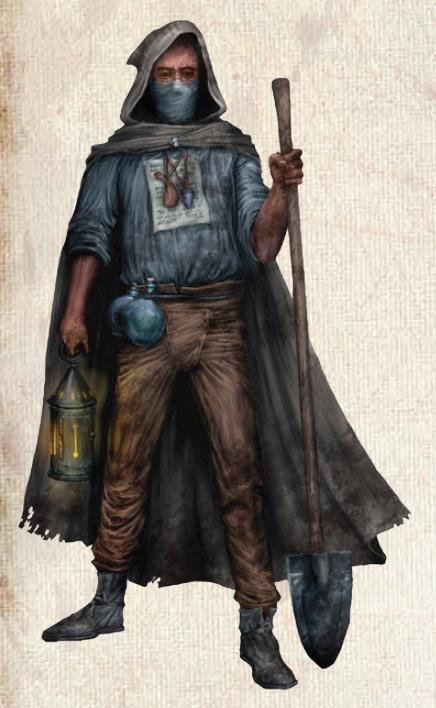 Ladrón de tumbas tercera edición rol