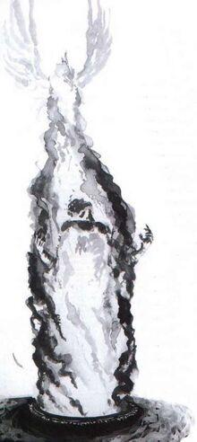 Malekith en la Llama Sagrada de Asuryan por Dave Gallagher