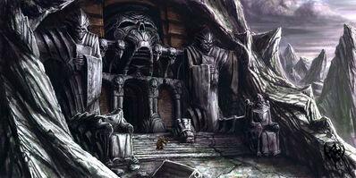 Warhammer AoR Mourkain Morgheim tumba Michael Phillippi