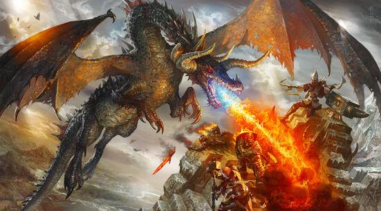 Dragón de Ryan Barger