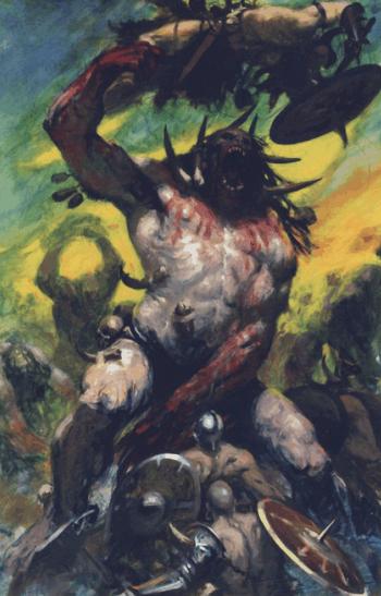 Gargantúas Reinos Ogros 8ª Edición ilustración color