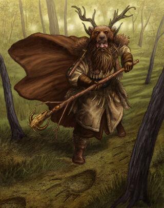 Hechicero Ámbar por Chris Quilliams
