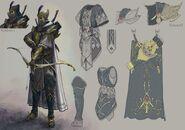 Guerrero Sombrío Warhammer Online por Michael Phillippi