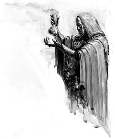 Hechicero de batalla Imperio Dorado por Karl Kopinski