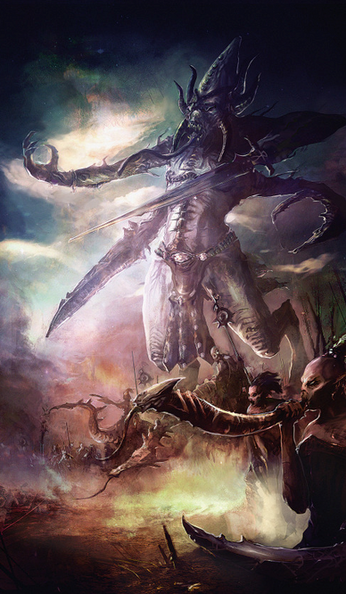 Guardin de los Secretos by columbussage Demonios Caos