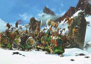 Guerreros de Clan Enanos por Adrian Smith