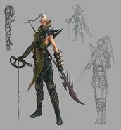 Señor de las Bestias Elfos Oscuros Warhammer Online por Michael Phillippi
