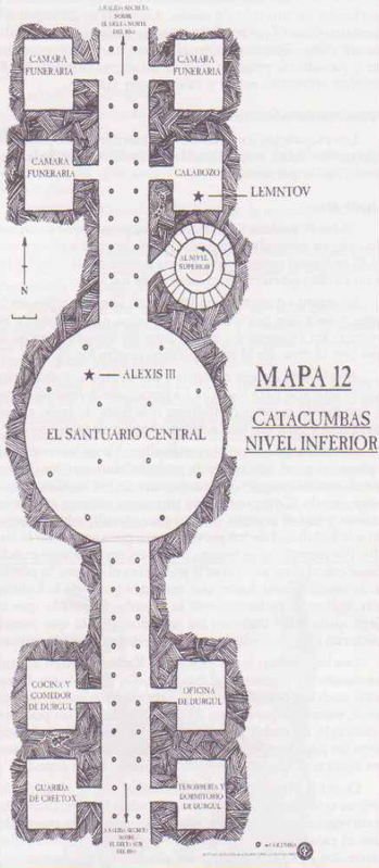 Catacumbas inferiores bolgasgrado