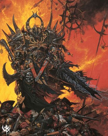 Engra Espada de Muerte por Adrian Smith Guerreros del Caos