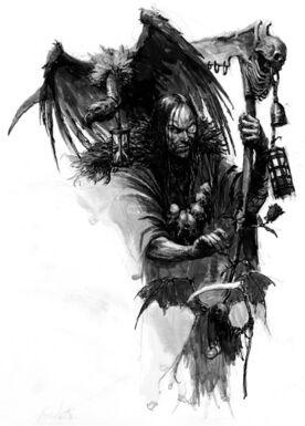 Hechicero de batalla Imperio Amatista por Karl Kopinski