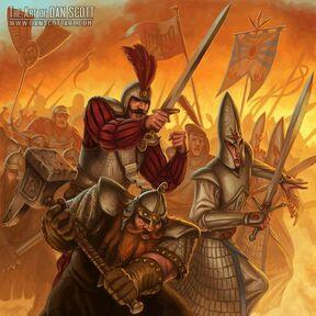 Alianza Tormenta del Caos por Dan Scott