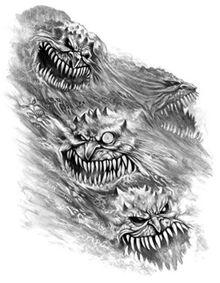 Horrores de Tzeentch por Des Hanley