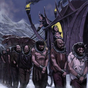 Warhammer Noble Elfo Oscuro por John Wigley