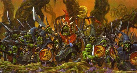 Adrian Smith Linea de Batalla de Goblins Nocturnos