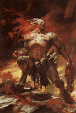 Rey necrofago strigoi