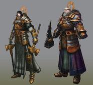 Sacerdotes Guerreros Epic Warhammer Online por Michael Phillippi