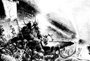 Feldor campeon khorne horrores por Adrian Smith