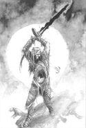 Momia con Espada por John Blanche