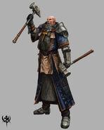 Sacerdote Guerrero 03 Warhammer Online por Michael Phillippi