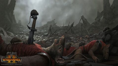 Cadaveres skaven warhammer total war por Milek Jakubiec