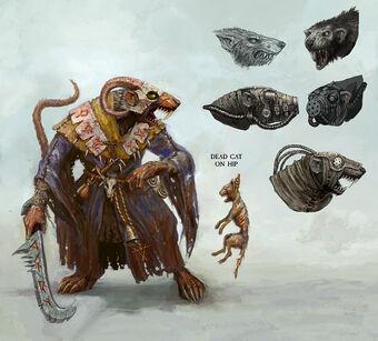 Arte conceptual Vidente Gris 02 por Lucas Hardi Warhammer Online Skaven