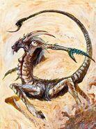 Diablo de Slaanesh por John Blanche 01