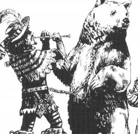 Domador de osos musico