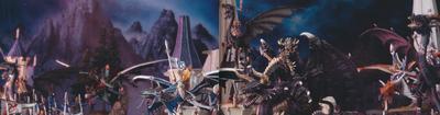 Masacre en la puerta del aguila dragones caledor rey brujo