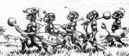 Pigmeos por Paul Bonner