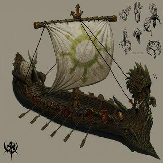 Barco Largo Nórdicos por Mike Franchina