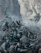 Guerras Goblin Enanos Orcos por Karl Kopinski