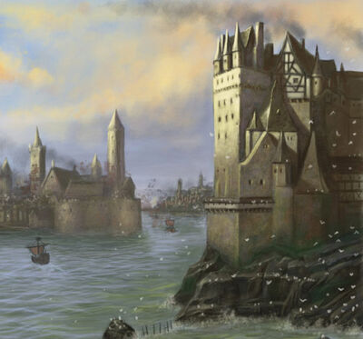 Marienburgo Puerto Marino por John Wigley