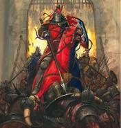 Knight of the realm Caballeros del Reino Adrian Smith
