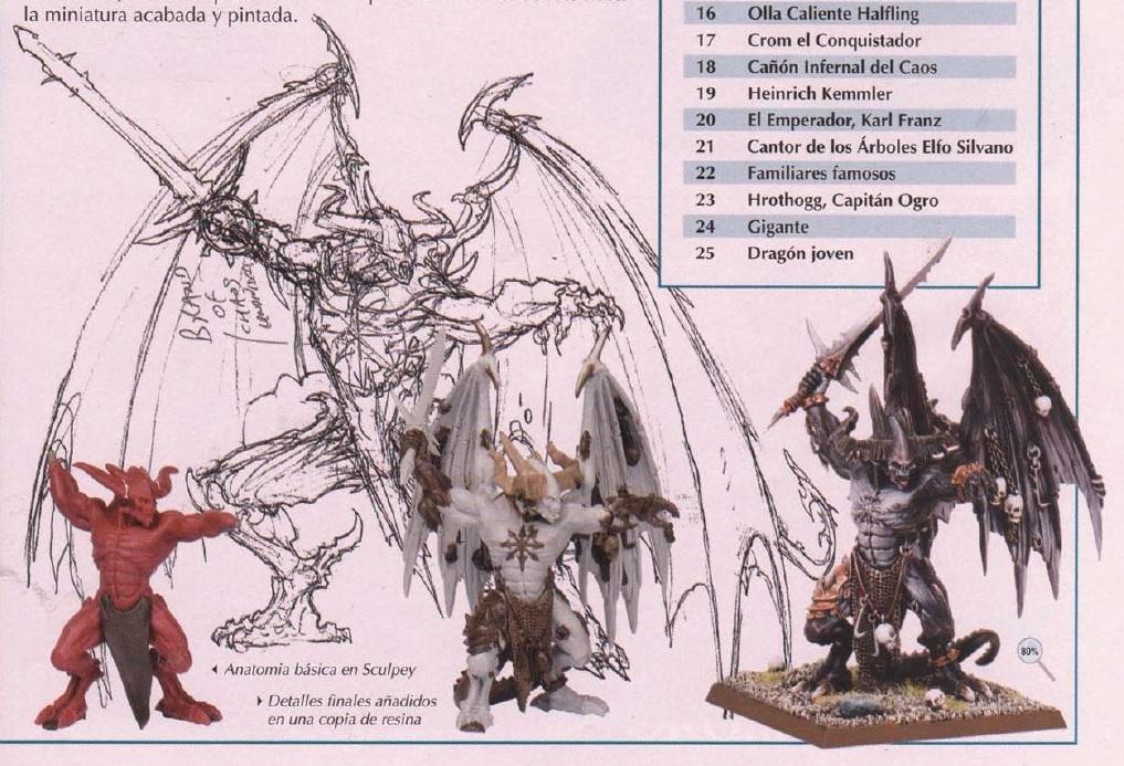 Imagen - Boceto y miniaturas de be\'lakor.jpg   Wiki La Biblioteca ...