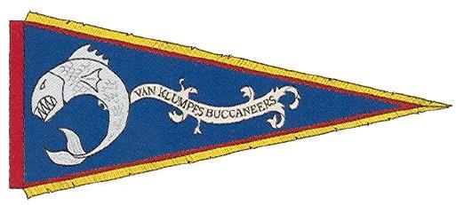 Bandera de los Bucaneros de Van Klumf