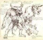 Minotauros por Dave Gallagher