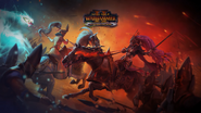 Hellebron y Alarielle Warhammer Total War II