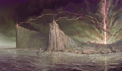 Isla de los Muertos 01 por Jonathan Kirtz Altos Elfos