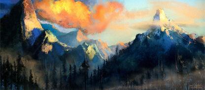 Montañas Enanas Warhammer Online por Chris J. Anderson